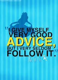 alice advice